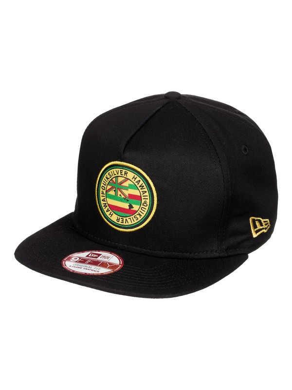 0 Moana Snapback New Era 5-Panel Snapback Hat  AQYHA03333 Quiksilver