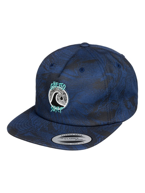 0 The Ghetto - Casquette Bleu AQYHA03415 Quiksilver