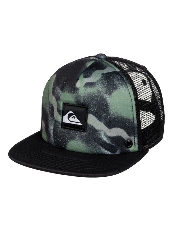 0 Boardies Trucker Hat Black AQYHA03437 Quiksilver