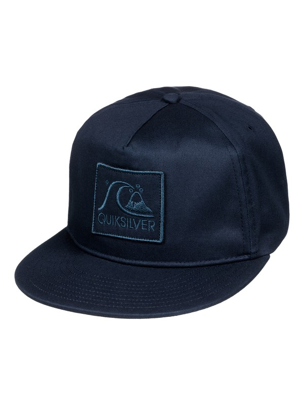 0 Graf - Casquette snapback Bleu AQYHA03445 Quiksilver