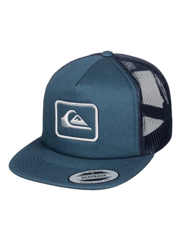0 Ropes Trucker Hat  AQYHA03465 Quiksilver