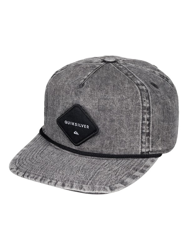 0 Grooved - Casquette snapback  AQYHA03513 Quiksilver