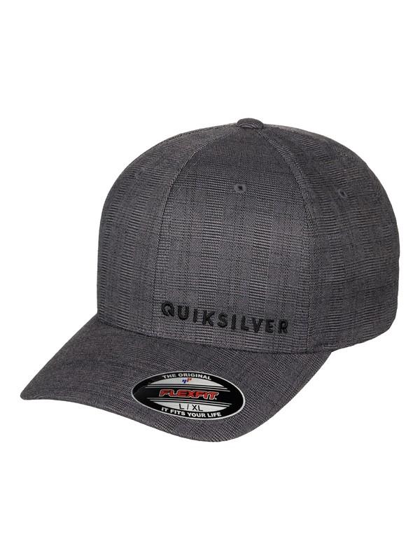 0 Sideliner - Flexfit Cap Schwarz AQYHA03516 Quiksilver