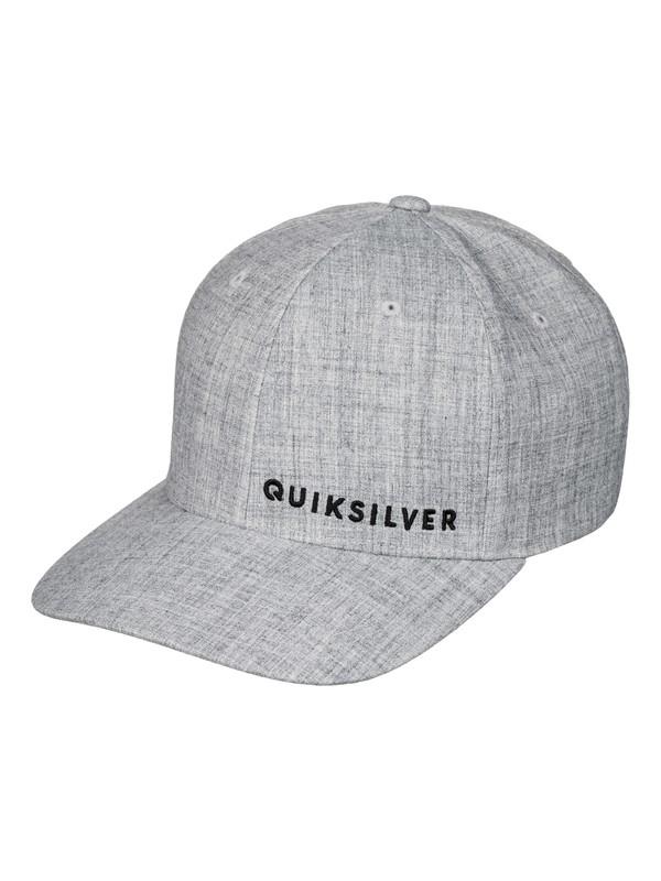 0 Sideliner - Casquette flexfit Gris AQYHA03516 Quiksilver