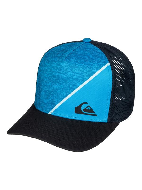 0 New Wave Curve Snapback Hat  AQYHA03519 Quiksilver