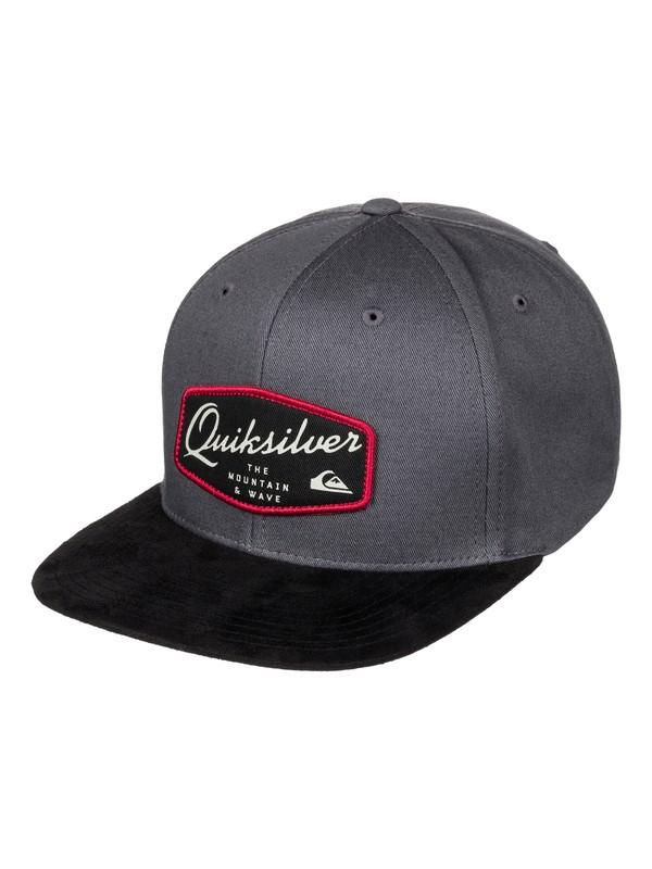 0 On Top - Casquette snapback Noir AQYHA03522 Quiksilver