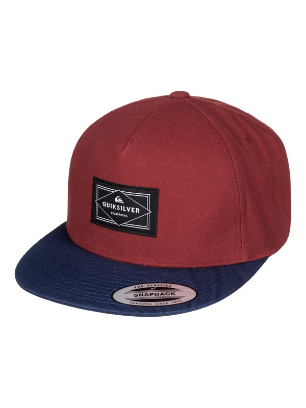 0 Freewill - Casquette snapback Rouge AQYHA03525 Quiksilver