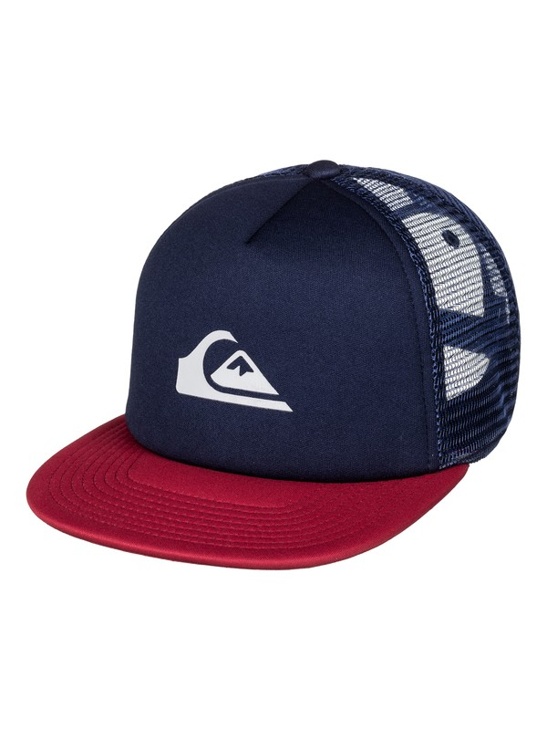 0 Snap Addict Trucker Hat Blue AQYHA03528 Quiksilver