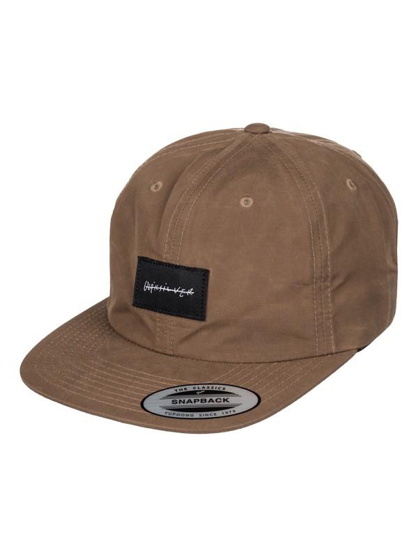 0 Ghetto Swill Snapback Hat  AQYHA03544 Quiksilver