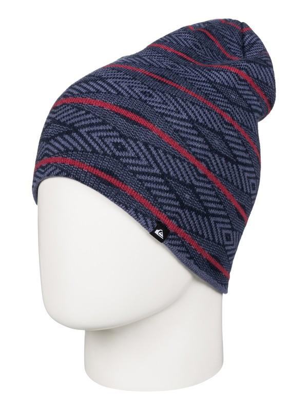 0 Checkstripe - Bonnet Bleu AQYHA03559 Quiksilver