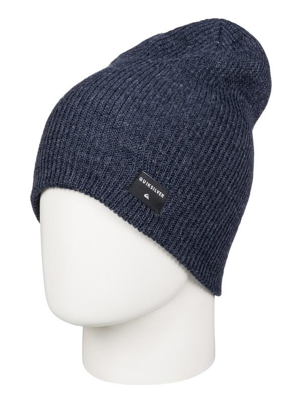 0 Cushy Slouch - Bonnet long Bleu AQYHA03561 Quiksilver