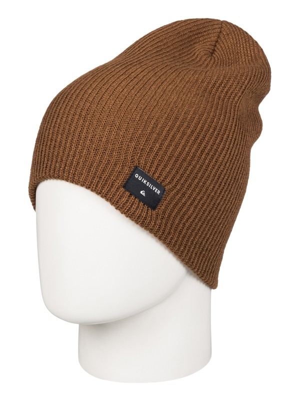0 Cushy Slouch - Bonnet long Marron AQYHA03561 Quiksilver