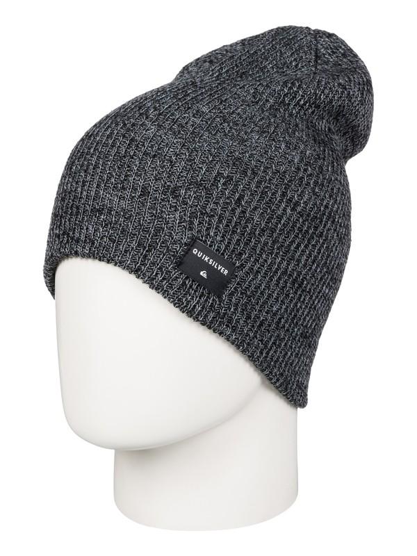 0 Cushy Slouch - Bonnet long Noir AQYHA03561 Quiksilver