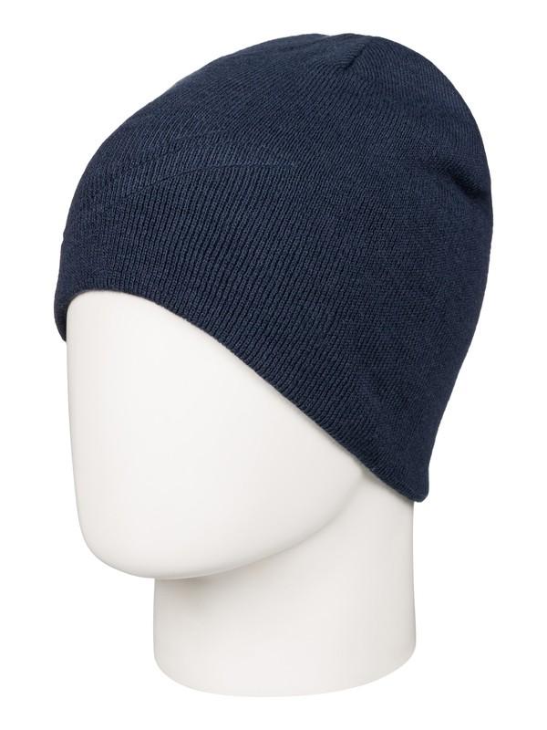 0 Heatbag - Bonnet réversible Bleu AQYHA03568 Quiksilver