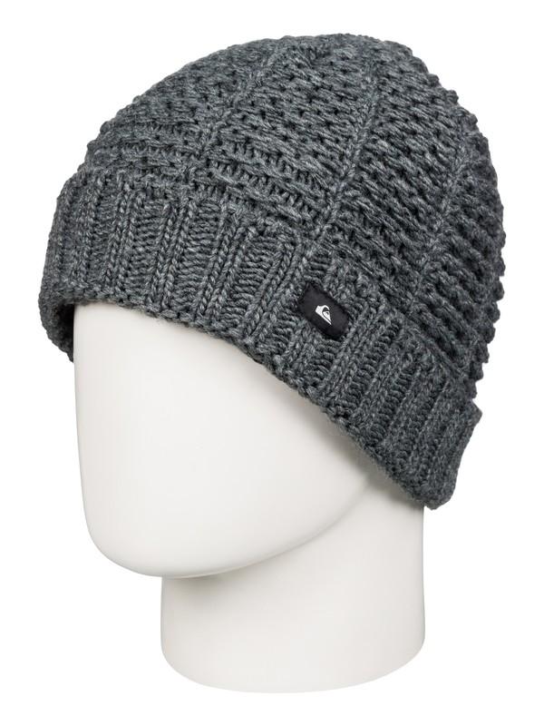 0 Keefer - Bonnet à revers Noir AQYHA03572 Quiksilver