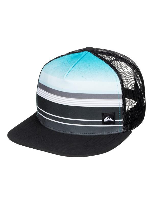 0 Everyday Stripe Trucker Hat  AQYHA03577 Quiksilver