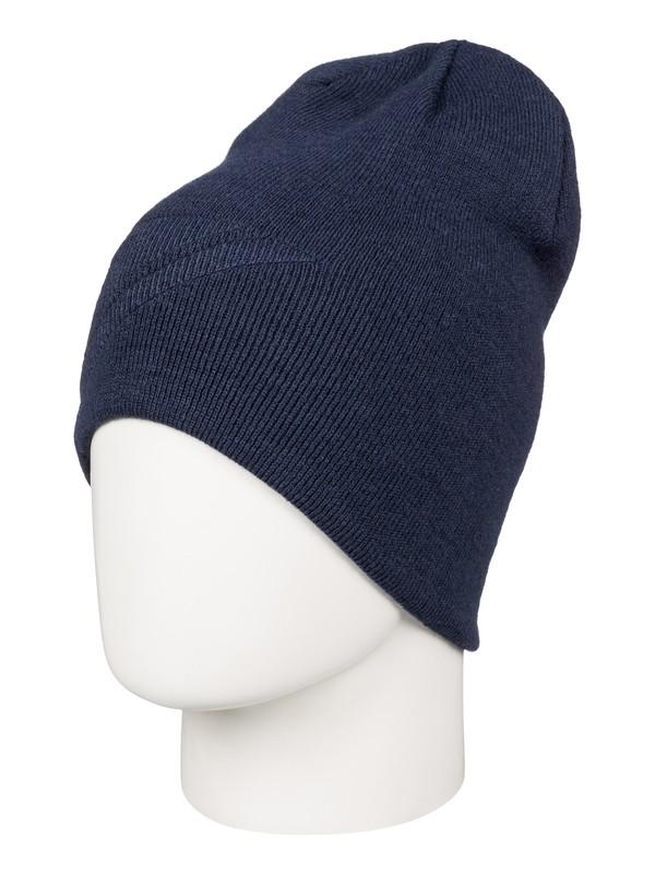 0 Heatbag Slouch - Bonnet long Bleu AQYHA03596 Quiksilver