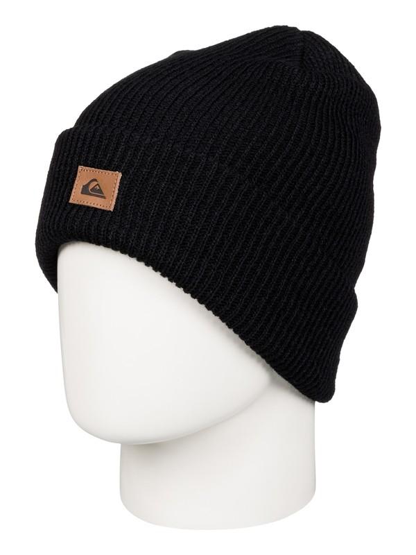 0 Performer - Bonnet à revers Noir AQYHA03606 Quiksilver