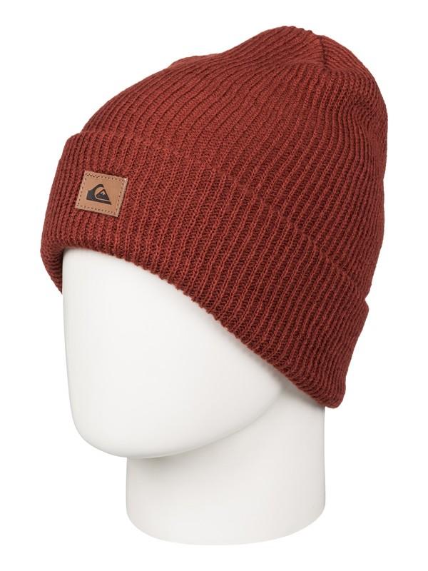 0 Performer - Bonnet à revers Rouge AQYHA03606 Quiksilver