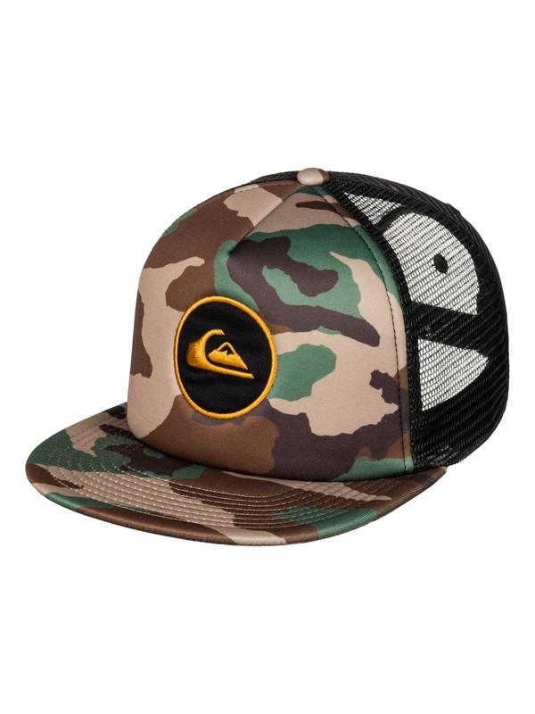 0 Snapstearn Trucker Hat Brown AQYHA03623 Quiksilver