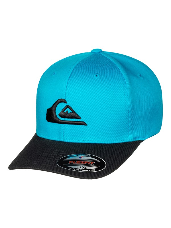 0 Mountain And Wave Flexfit Hat Blue AQYHA03630 Quiksilver