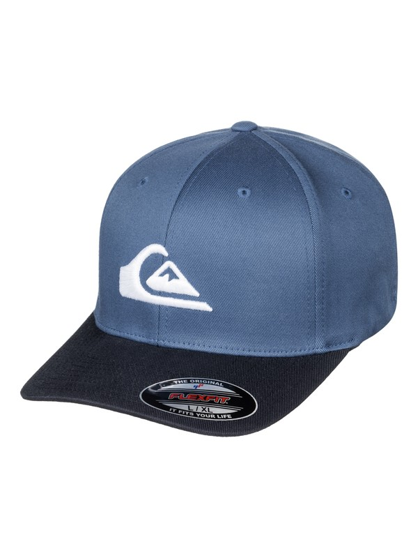 0 Mountain And Wave - Casquette flexfit Bleu AQYHA03630 Quiksilver