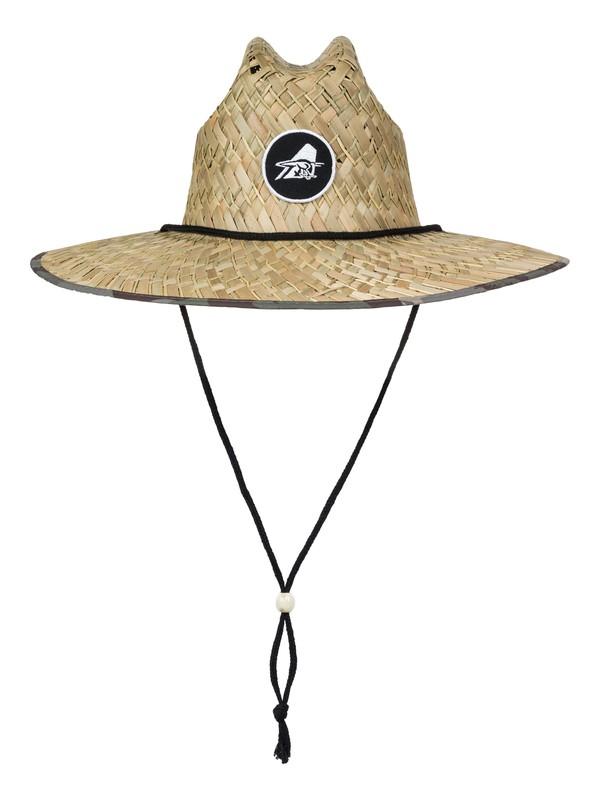 0 Eddie Outsider Straw Lifeguard Hat  AQYHA03664 Quiksilver
