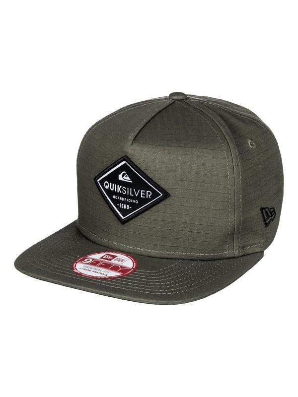 0 Stakes Snapback Hat  AQYHA03675 Quiksilver