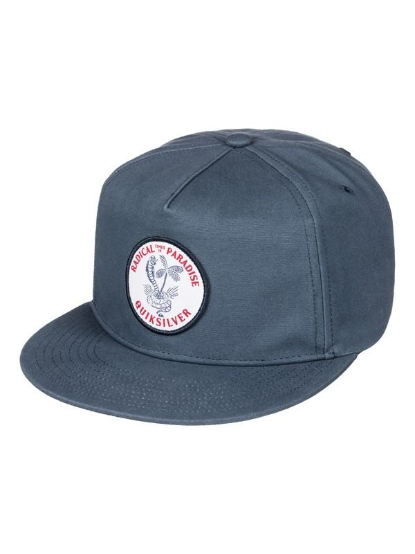 0 The Times Snapback Hat  AQYHA03677 Quiksilver