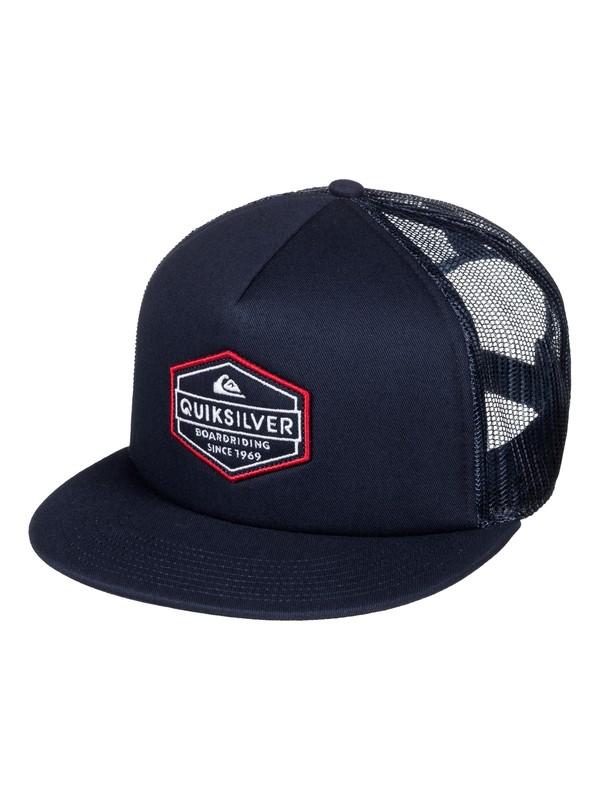 0 Marbleson Trucker Hat  AQYHA03684 Quiksilver
