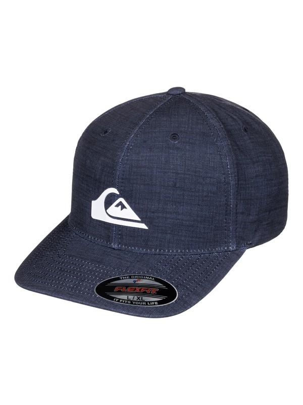 0 Amphibs Stretch Flexfit Hat  AQYHA03691 Quiksilver