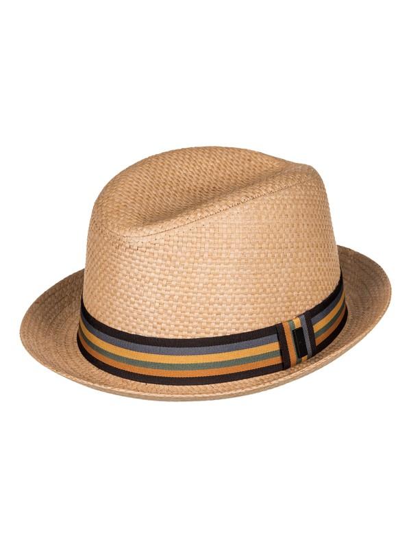 0 Harsony - Cappello fedora Brown AQYHA03696 Quiksilver