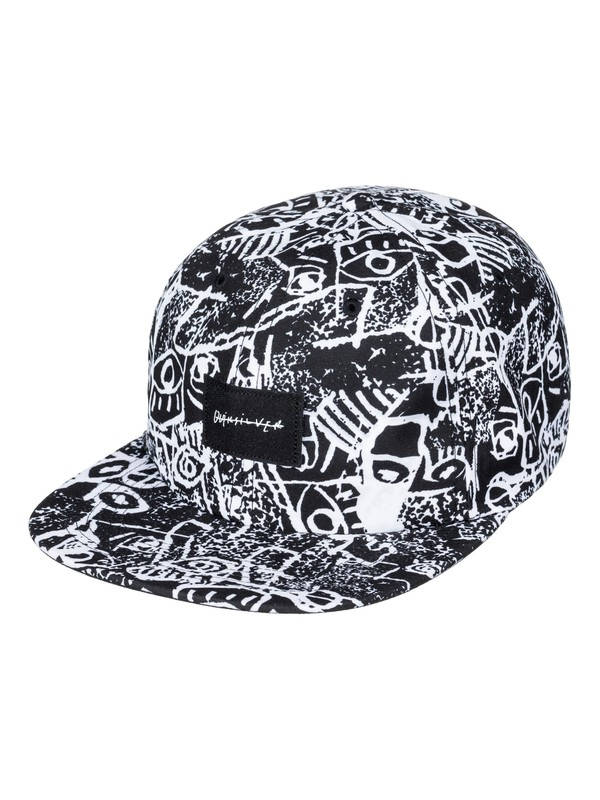 0 Nighty Snapback Hat Black AQYHA03709 Quiksilver