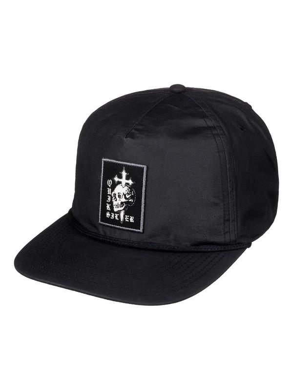 0 Sketchy Ridge Snapback Hat Black AQYHA03710 Quiksilver