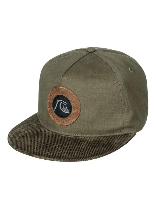 0 Braggle Rock Snapback Hat Brown AQYHA03714 Quiksilver