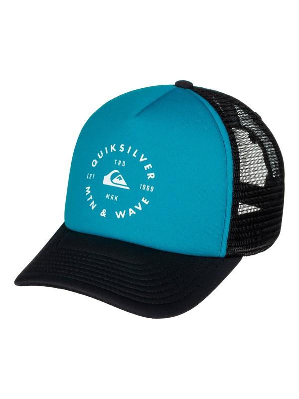 0 Foamblast Trucker Hat  AQYHA03717 Quiksilver
