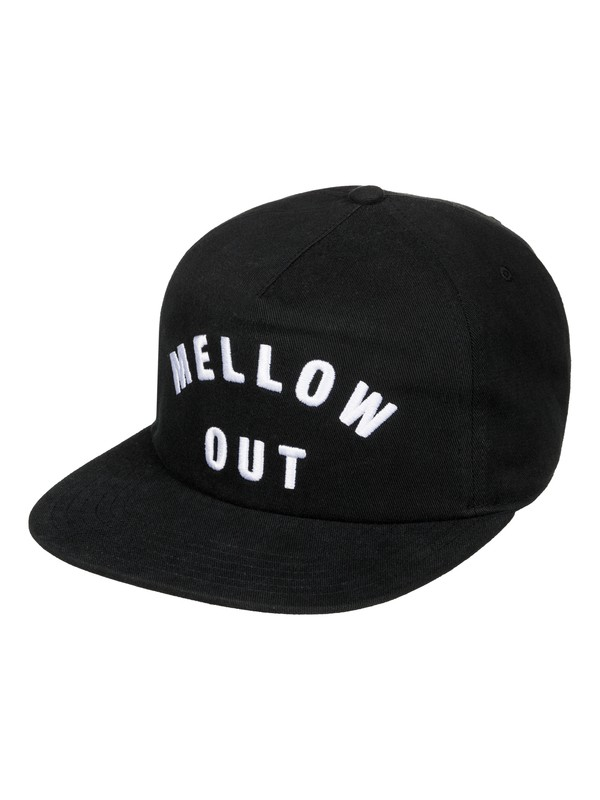0 Simmer Snapback Hat Black AQYHA03722 Quiksilver