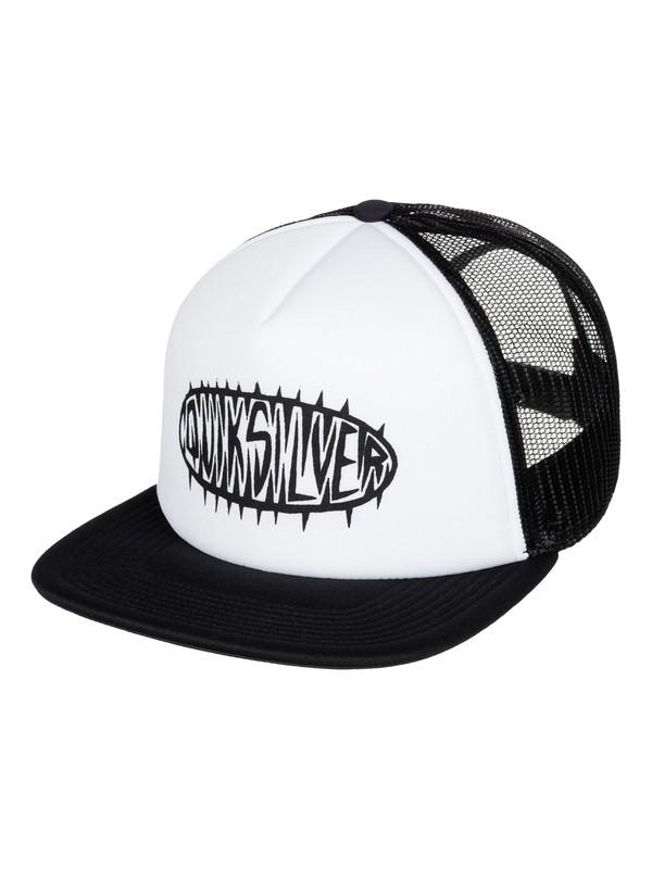 0 Stale Trucker Hat White AQYHA03724 Quiksilver