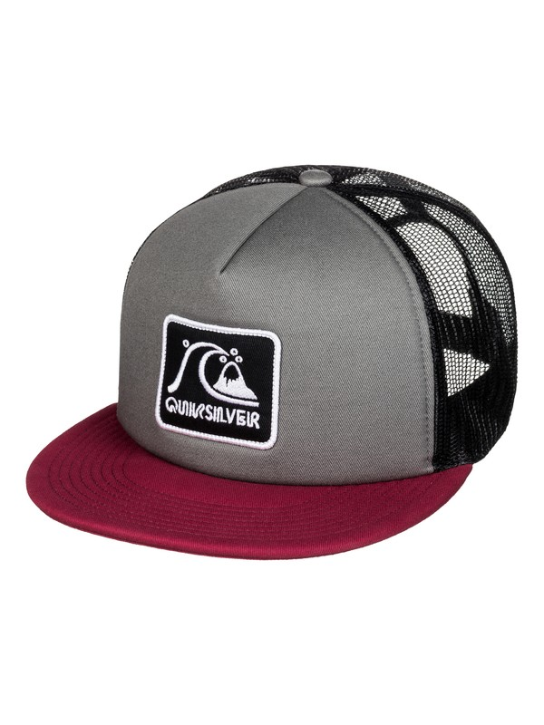 0 Graffed Trucker Hat Black AQYHA03726 Quiksilver