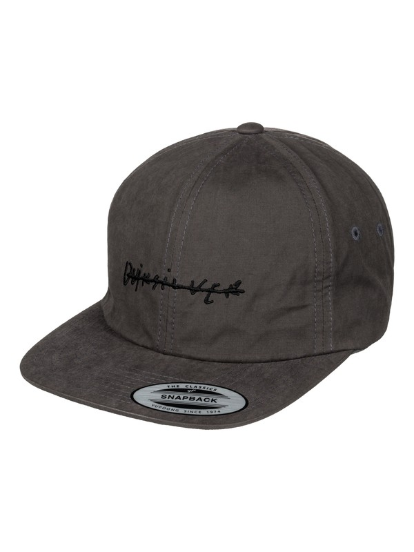 0 Gramatic Snapback Hat Black AQYHA03729 Quiksilver