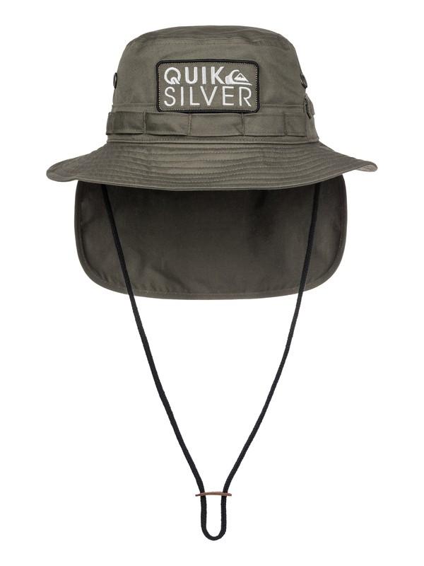 0 Shields Boonie Bush Hat Green AQYHA03735 Quiksilver