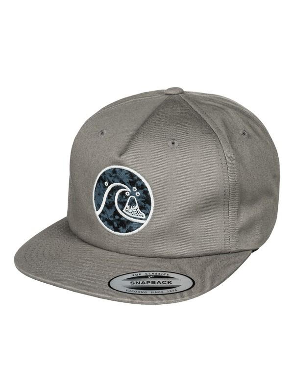 0 Fillbait Snapback Hat  AQYHA03761 Quiksilver