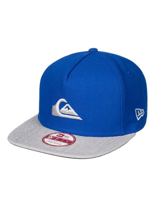 0 Stuckles Snapback Hat Blue AQYHA03767 Quiksilver