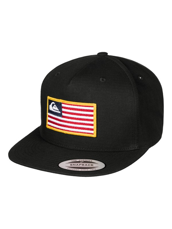 0 Tonal Pride Snapback Hat Black AQYHA03769 Quiksilver
