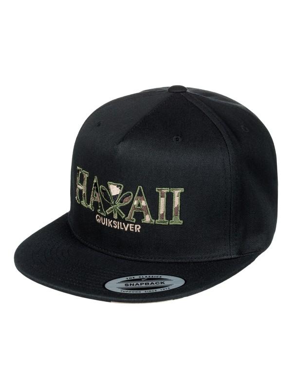 0 Tide Breezer Snapback Hat Black AQYHA03817 Quiksilver