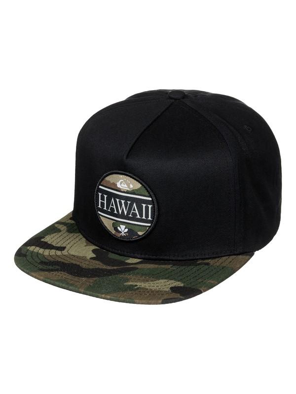 0 Highwater Snapback Hat Black AQYHA03818 Quiksilver