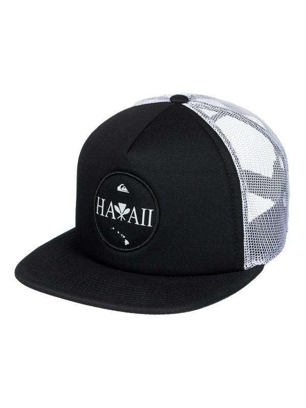 0 Sundowner Trucker Hat Black AQYHA03819 Quiksilver
