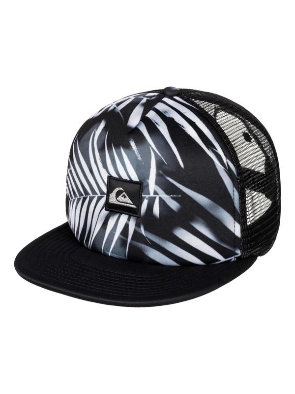 0 Boardies Trucker Hat Black AQYHA03820 Quiksilver