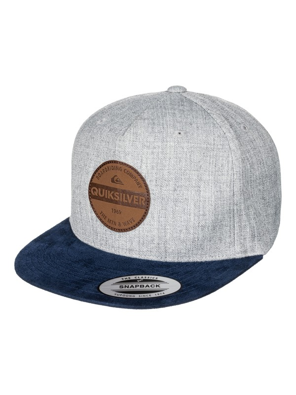 0 Pier Pressure Snapback Hat Blue AQYHA03834 Quiksilver