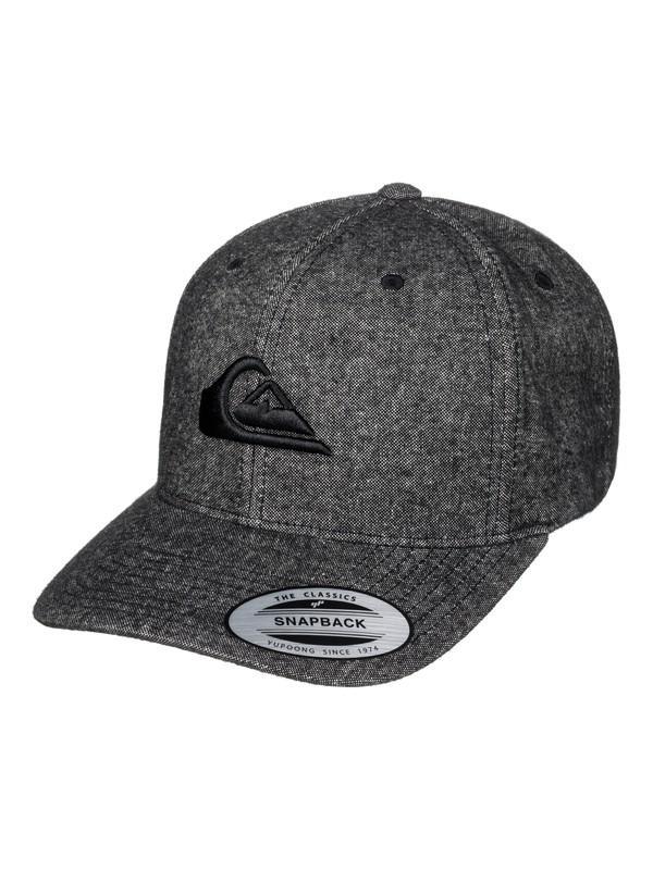 0 Decades Plus - Snapback Cap Black AQYHA03838 Quiksilver